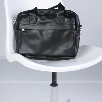 Мужская сумка для ноутбука, мессенджер, на каждый день