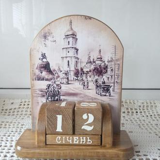 """вечный календарь """"Старий Киів """""""