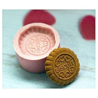 Молд силиконовый Печенье Biscuit круглое