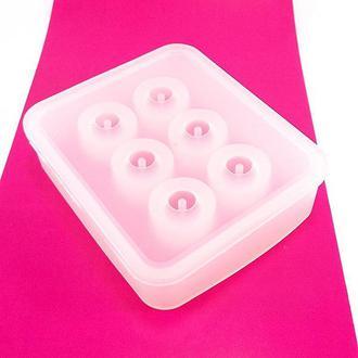 Молд силиконовый для бусин шар 12 мм
