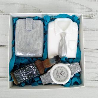 Сувенирное мыло, набор для деловых мужчин