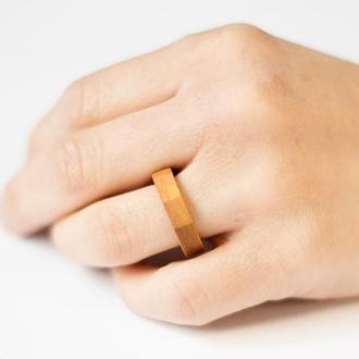 """Дерев'яний перстень  """"Грані"""""""