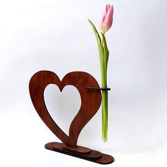 Ваза «Любящее сердце»: подарите сердце любимому человеку
