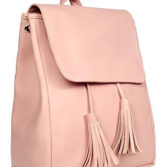 Вместительный женский рюкзак пудра для ноутбука, учебы