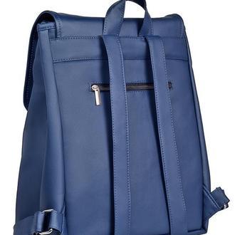 Вместительный красивый женский рюкзак синий