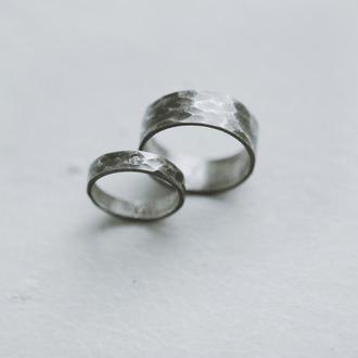 Кованые обручальные кольца