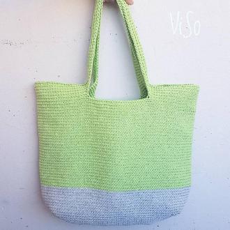 Пляжная сумка (шоппер)