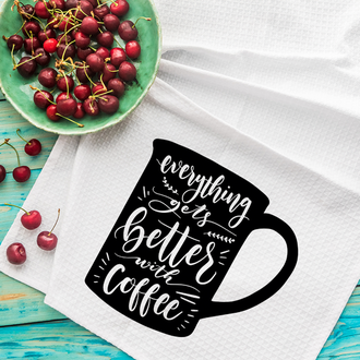 Кухонное полотенце Coffee
