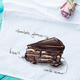 Кухонное полотенце Торт