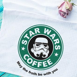 Кухонное полотенце Star wars coffe