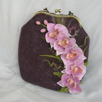 Сумочка Орхидея