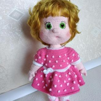 Кукло вязаная