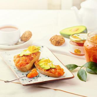 Гарбузово-апельсинова мармуляда