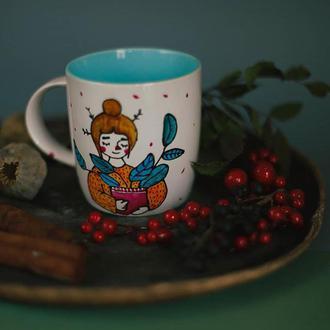 Чашка с иллюстрацией
