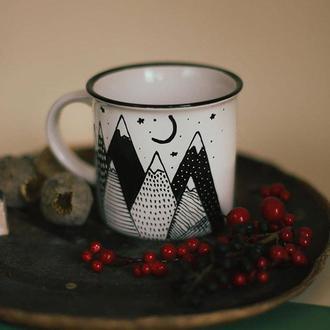 Чашка с иллюстрацией, 480мл