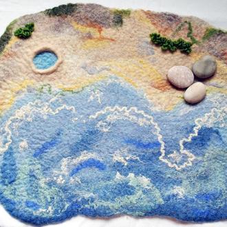 Развивающий коврик, ландшафт для игры