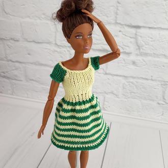 Одежда для кукол Барби, платье на Барби