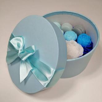 Мыло в голубой коробочке!