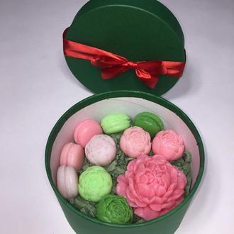 Мыло  в зелёной коробочке!