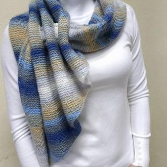 норвежский шарф,диагональ
