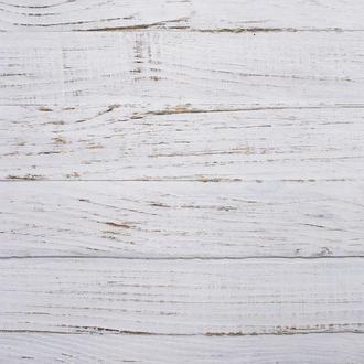 Виниловый фотофон белые текстурные доски 100*100