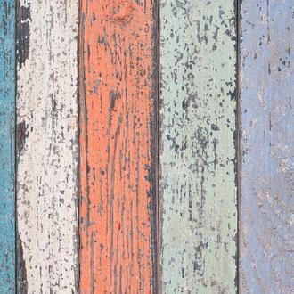 Виниловый фотофон 1*1м цветные текстурные доски