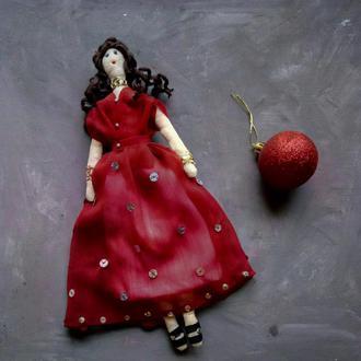 """Кукла """"Шарлотта"""" в стиле тильда, текстильная, интерьерная"""