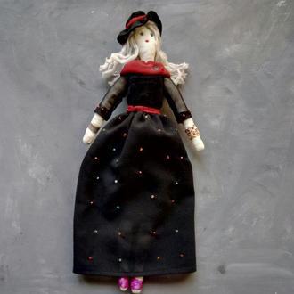 """Кукла """"Гертруда"""" в стиле тильда, текстильная, интерьерная"""