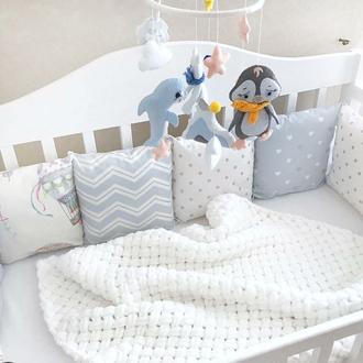 Детский плед, Детское одеяло, плед для новорожденного, на подарок