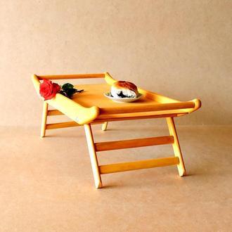 Столик-поднос с ручками Айова ваниль