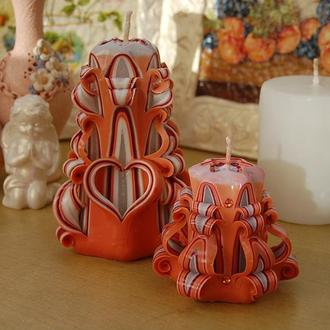 Набор романтических свечей