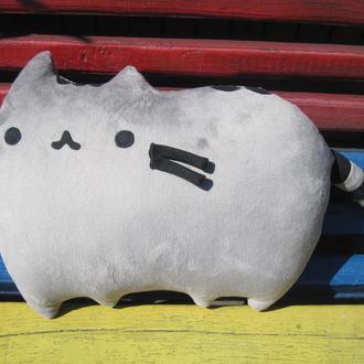 Мягкая игрушка-подушка Кот Пушин Pusheen - the cat