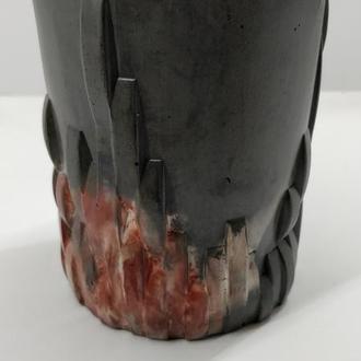 бокал для виски из бетона