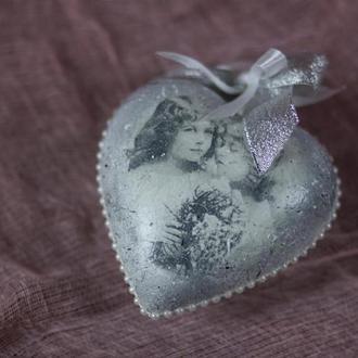 Сердце валентинка на День Валентина