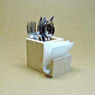 Подставка для столовых приборов Пранзо (без отделки)