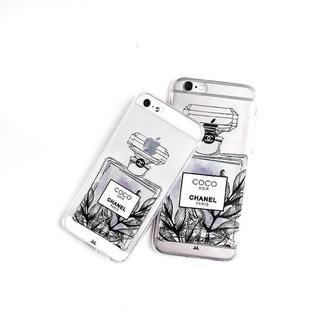 Силиконовый чехол MANKI Perfume на iPhone 6/6S