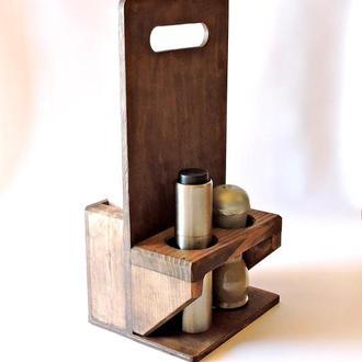 Подставка для столовых приборов Чентрино капучино