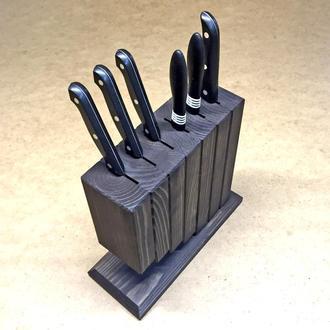 """Подставка для ножей """"Саламанка"""" венге"""