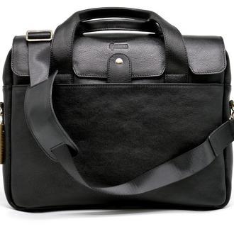 Крутая кожаная деловая сумка-порфель для ноутбука TA-1812-4lx от TARWA