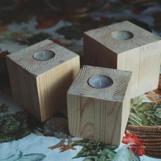 Подсвечник, куб