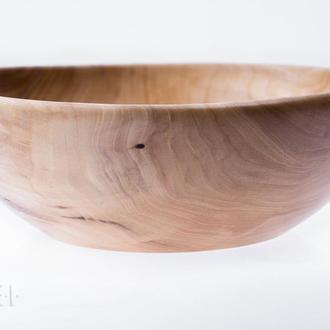 Декоративна миска\чаша\ваза з деревини в'яза.