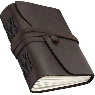 Блокнот COMFY STRAP скетчбук з натуральної шкіри