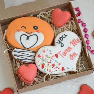 Пряники ко Дню святого Валентина
