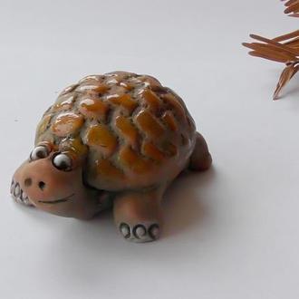 Фигурка черепахи керамическая