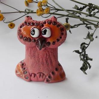Керамическая сова  Фигурка