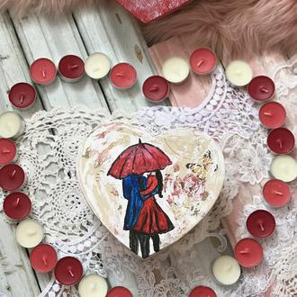 Коробочка - валентинка пара