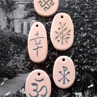 Подарочный комплект из пяти кулонов