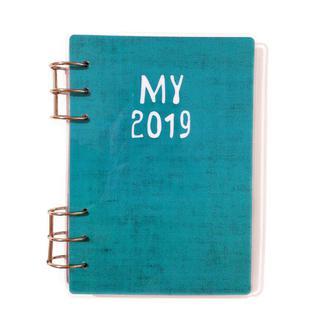 Датированный планер (ежедневник, ежедневник) на 6 месяцев MY COZY PLANNER, Январь — Июнь, Синий