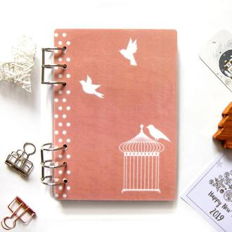 Датированный ежедневник (планер, ежедневник) на 6 месяцев (январь-июнь) MY COZY PLANNER Персиковый