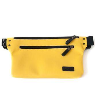 Поясная сумка Спорт (Бананка) Желтая Just Cover!